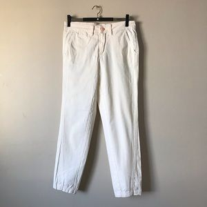 Chino by Anthropologie beige relaxed pants size 26